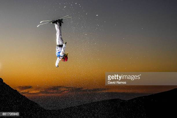 Catrine Lavallee of Canada competes during the Women's Aerials Final on day three of the FIS Freestyle Ski and Snowboard World Championships 2017 on...