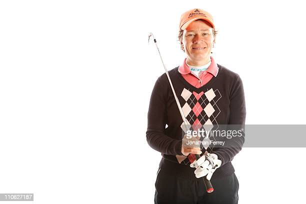 Catriona Matthew of Scotland poses for a portrait on March 22 2011 at the Industry Hills Golf Club in the City of Industry California