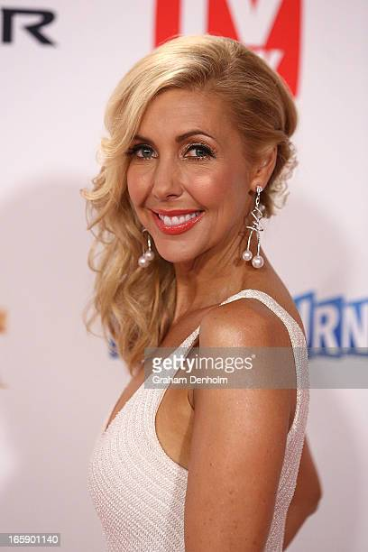 Catriona Rowntree arrives at the 2013 Logie Awards at the Crown on April 7 2013 in Melbourne Australia