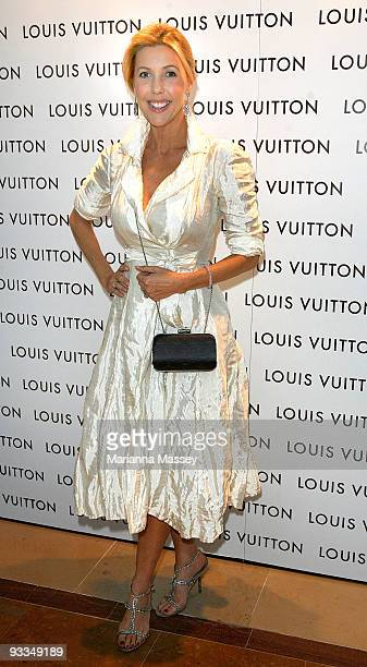 Catriona Rowntree arrives for the official opening of the new Louis Vuitton store at the Chadstone Shopping Centre on November 24 2009 in Melbourne...