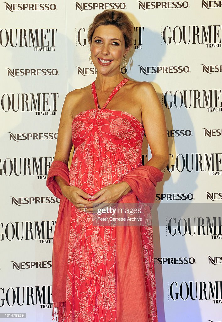 Catriona Rowntree arrives for the third annual Gourmet Traveller Travel Awards at the Sydney Opera House on May 27, 2009 in Sydney, Australia.
