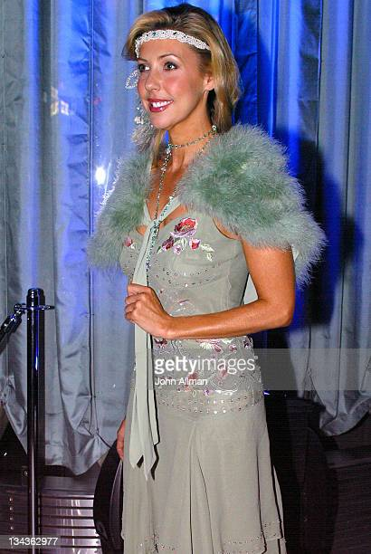 Catriona Rowntree during 'American In Paris' Costume Party at Industrie Bar in Sydney Australia