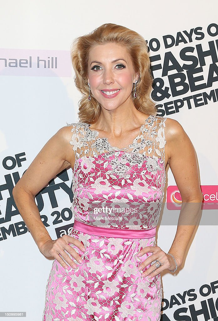 Catriona Rowntree poses during the 30 Days of Fashion & Beauty Launch at Sydney Town Hall on August 30, 2012 in Sydney, Australia.