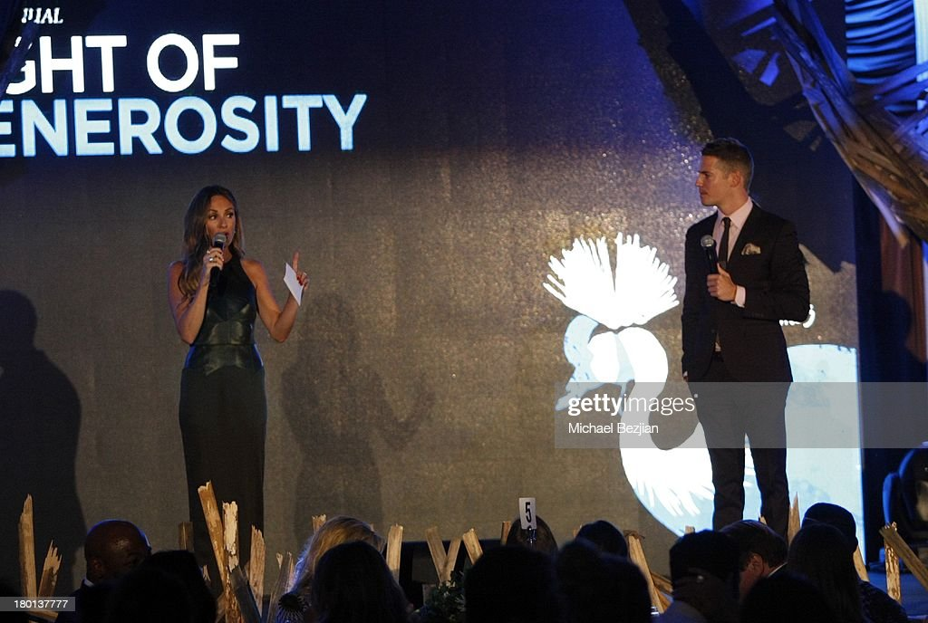 Catt Sadler and Jason Kennedy attend Generosity Water presents the 5th Annual Night Of Generosity at Beverly Hills Hotel on September 6, 2013 in Beverly Hills, California.