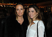 Catt Sadler and Orly Shani attend Splendid X Damsel Cotton Collection Launch Dinner on November 5 2015 in Los Angeles California