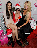 Catt Sadler and Stephanie Pratt attend the Singer holiday bash hosted by Catt Sadler with guest appearance by Stephanie Pratt at Singer22 on December...
