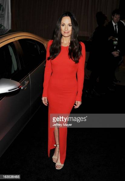 Catt Sadler arrives at Global Green USA's 10th Annual PreOscar party at Avalon on February 20 2013 in Hollywood California