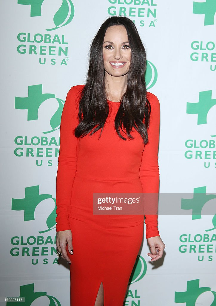 Catt Sadler arrives at the Global Green USA's 10th Annual pre-Oscar party held at Avalon on February 20, 2013 in Hollywood, California.