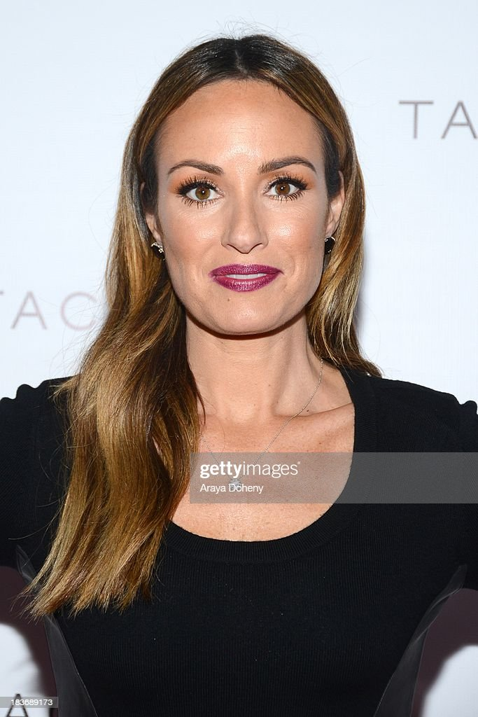 <a gi-track='captionPersonalityLinkClicked' href=/galleries/search?phrase=Catt+Sadler&family=editorial&specificpeople=754401 ng-click='$event.stopPropagation()'>Catt Sadler</a> arrives at the Tacori's annual Club Tacori 2013 event at Greystone Manor Supperclub on October 8, 2013 in West Hollywood, California.