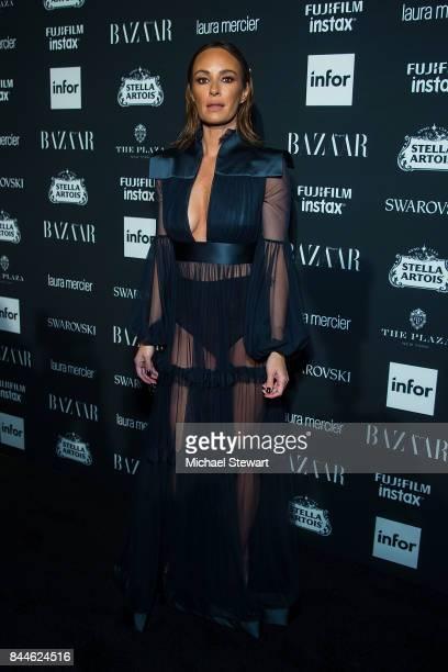 Catt Sadler attends 2017 Harper's Bazaar Icons at The Plaza Hotel on September 8 2017 in New York City
