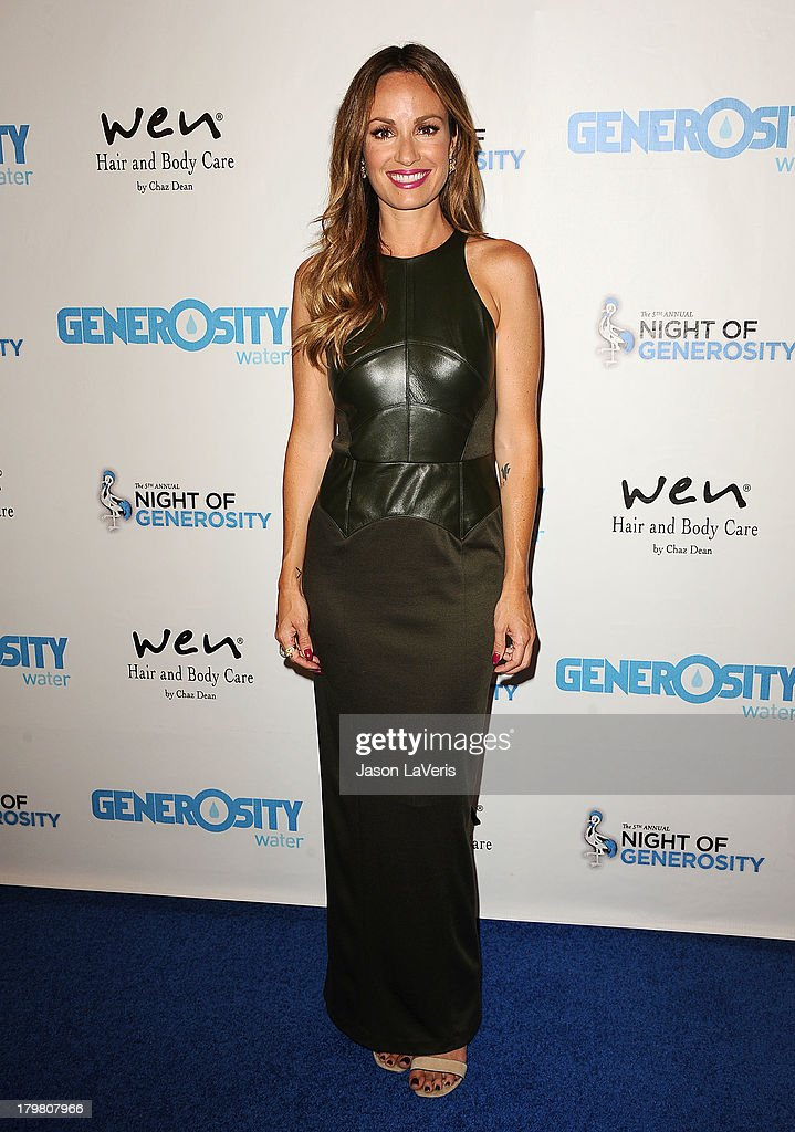 <a gi-track='captionPersonalityLinkClicked' href=/galleries/search?phrase=Catt+Sadler&family=editorial&specificpeople=754401 ng-click='$event.stopPropagation()'>Catt Sadler</a> attends Generosity Water's 5th annual Night of Generosity benefit at Beverly Hills Hotel on September 6, 2013 in Beverly Hills, California.
