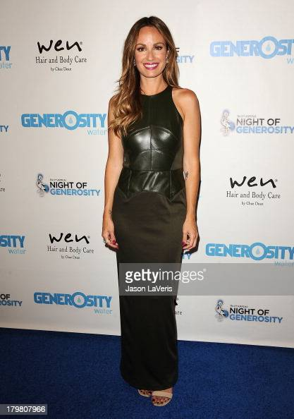 Catt Sadler attends Generosity Water's 5th annual Night of Generosity benefit at Beverly Hills Hotel on September 6 2013 in Beverly Hills California