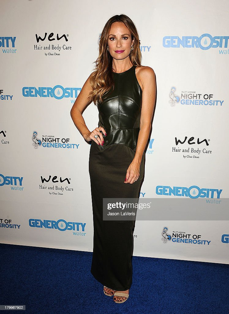 Catt Sadler attends Generosity Water's 5th annual Night of Generosity benefit at Beverly Hills Hotel on September 6, 2013 in Beverly Hills, California.