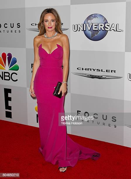 Catt Sadler attends NBCUniversal's 73rd Annual Golden Globes After Party at The Beverly Hilton Hotel on January 10 2016 in Beverly Hills California