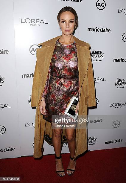 Catt Sadler attends the 2016 Marie Claire Image Maker Awards at Chateau Marmont on January 12 2016 in Los Angeles California