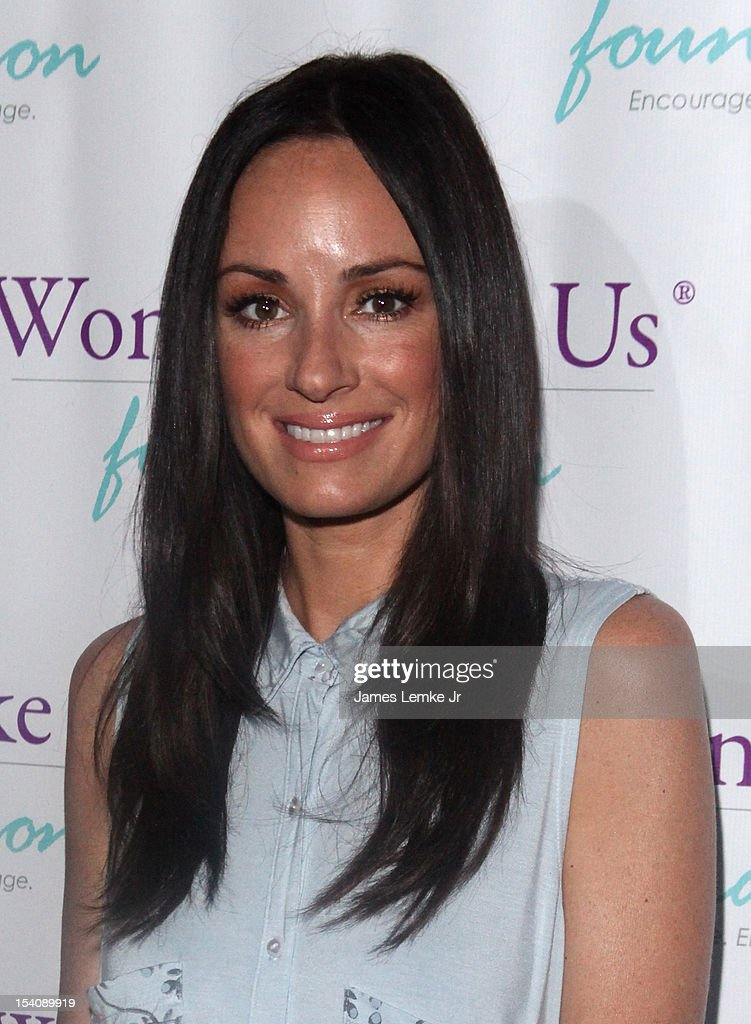 Catt Sadler attends the 'Girls Are Worth It' health fair and fundraiser for the Women Like Us Foundation at Level 3 club in Hollywood & Highland Center on October 13, 2012 in Hollywood, California.