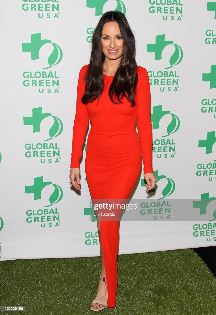 Catt Sadler attends the Global Green USA's 10th Annual Pre-Oscar Party held at Avalon on February 20, 2013 in Hollywood, California.