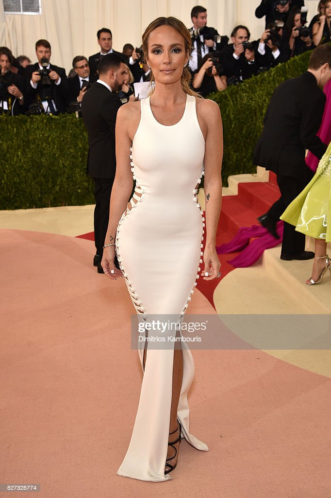 Catt Sadler attends the 'Manus x Machina: Fashion In An Age Of Technology' Costume Institute Gala at Metropolitan Museum of Art on May 2, 2016 in New York City.