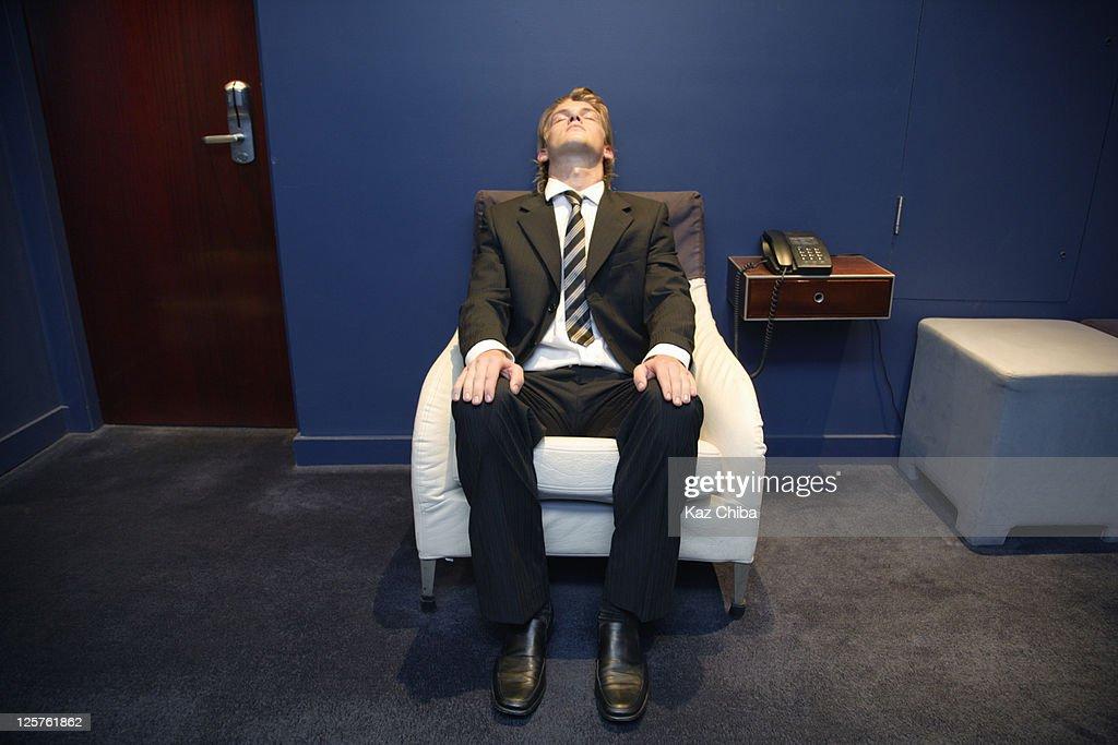 Caucasian Business Man : Stock Photo