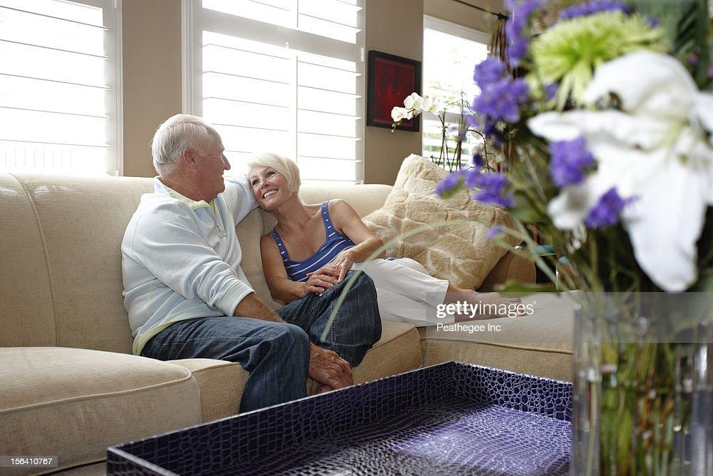 caucasian sofa