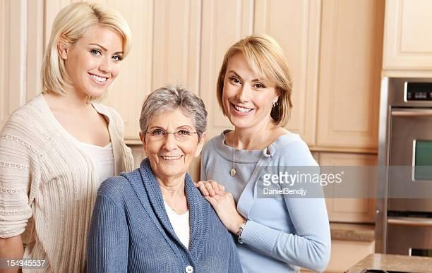 Europäischer Abstammung Familie Portrait