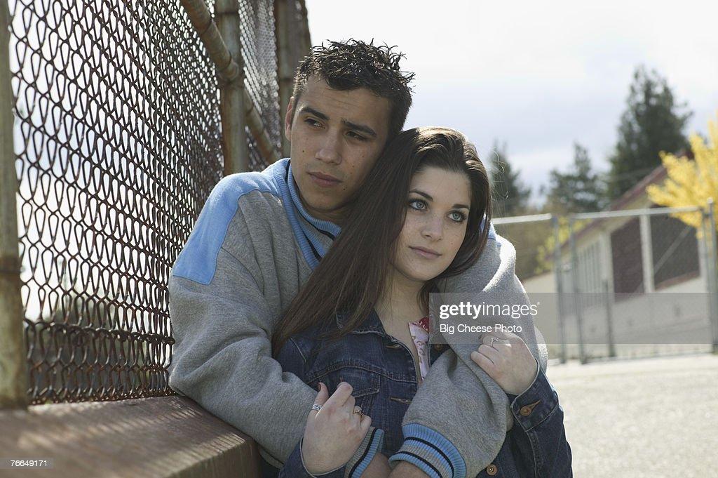 on bridge couple Teen