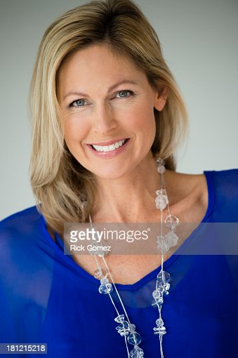 Caucasian woman smiling : Stock Photo