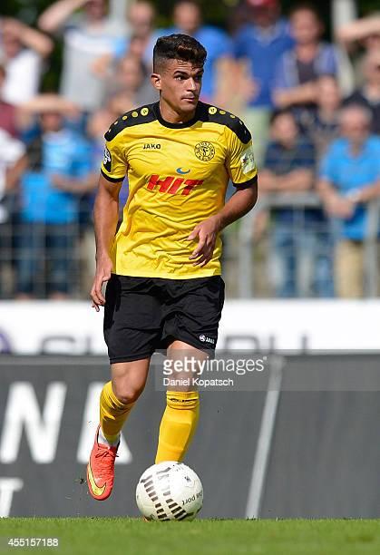 Cauly Oliveira Souza of Koeln controls the ball during the third Bundesliga match between Stuttgarter Kickers and Fortuna Koeln on September 6 2014...