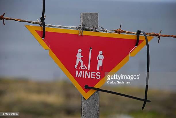 Caution: mines