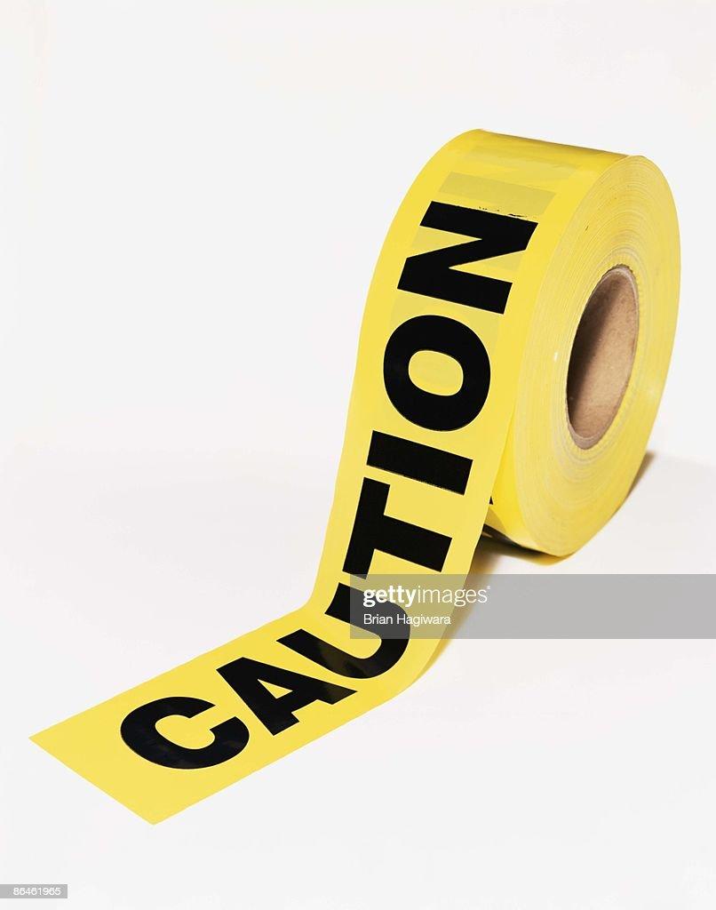 Caution tape : Stock Photo