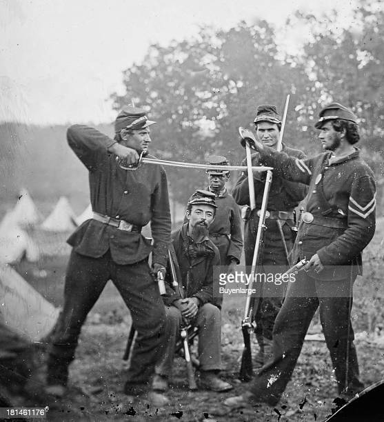 Cavalry were forces that fought principally on horseback armed with carbines pistols and especially sabers Only a small percentage of Civil War...