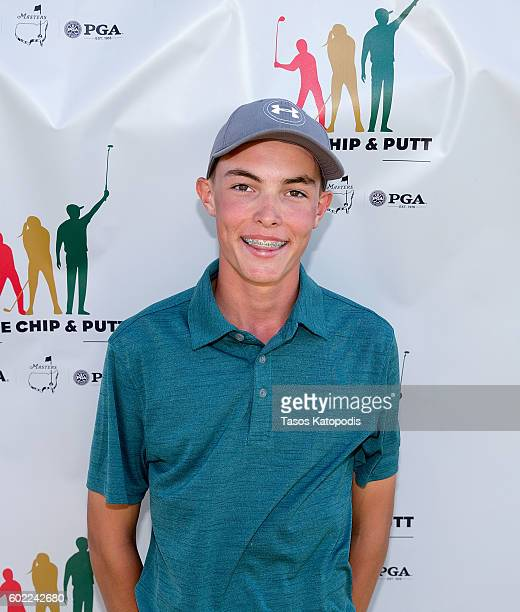 Cavan Jones first place overall winner in the boys 1415 at the Drive Chip and Putt Regional Qualifier at Southern Hills Country Club on September 10...