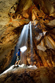 Cave in Lopburi Province : Thailand