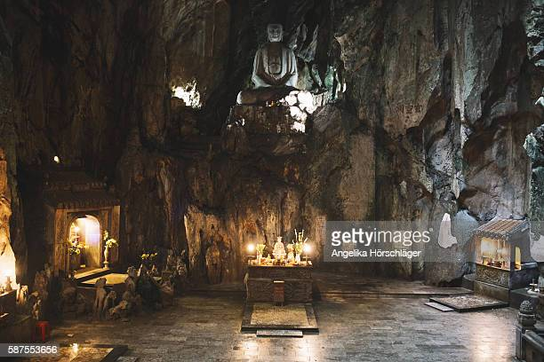 Cave temple - Marble Mountains