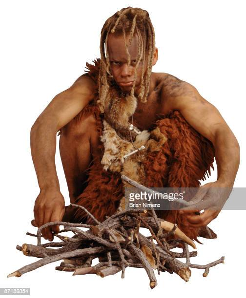 Caveman (Clipping Paths Included)