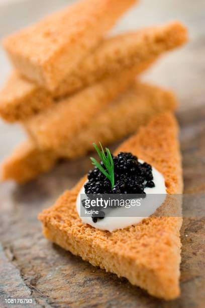 Caviar and Toast Points