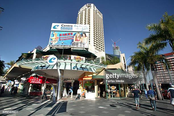 Cavill Avenue shops Surfers Paradise Gold Coast 22 June 2005 AFR Picture by ROBERT ROUGH