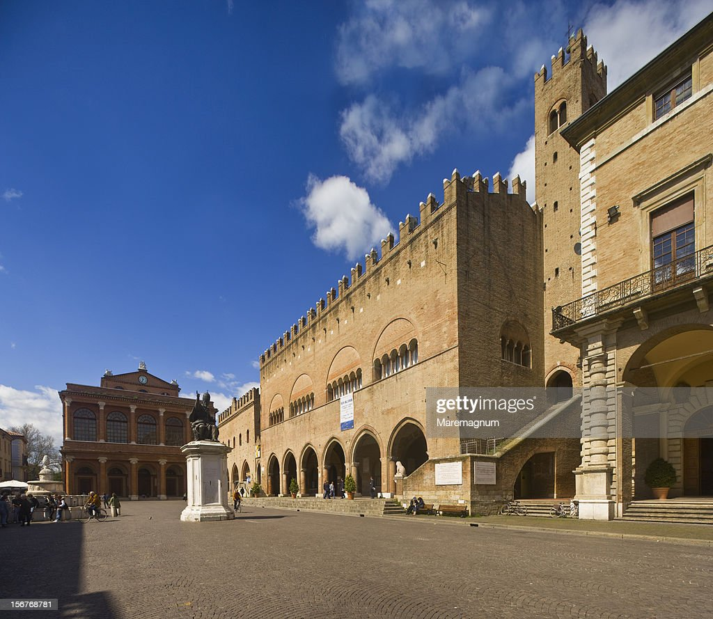Cavour Square, Theatre and Comunale Palace