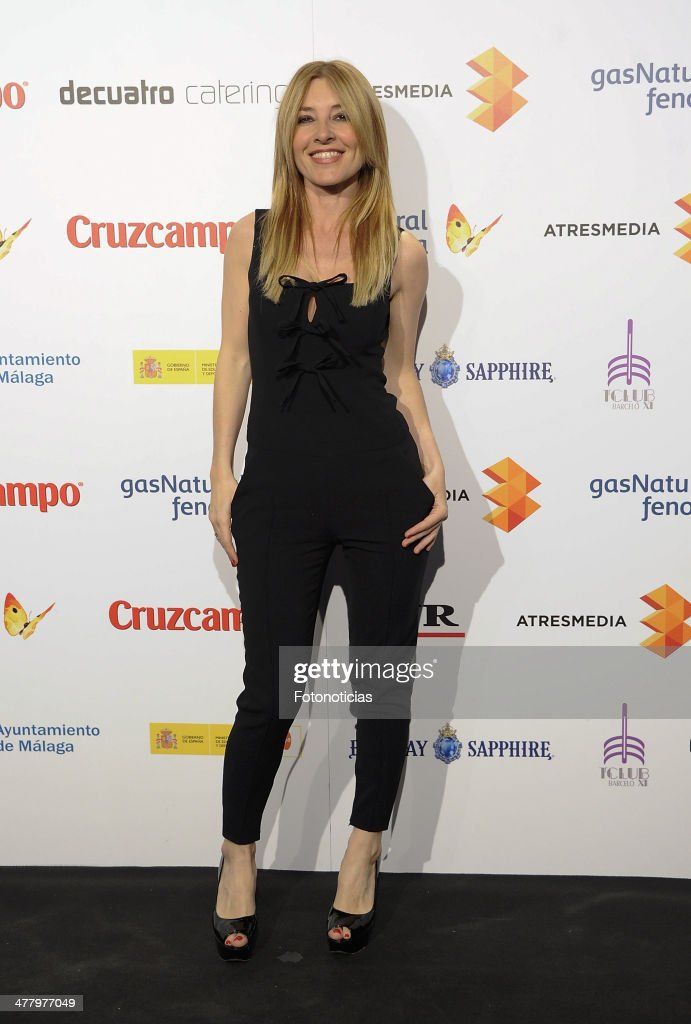 <a gi-track='captionPersonalityLinkClicked' href=/galleries/search?phrase=Cayetana+Guillen+Cuervo&family=editorial&specificpeople=605768 ng-click='$event.stopPropagation()'>Cayetana Guillen Cuervo</a> attends the Malaga Film Festival cocktail presentation at TClub on March 11, 2014 in Madrid, Spain.