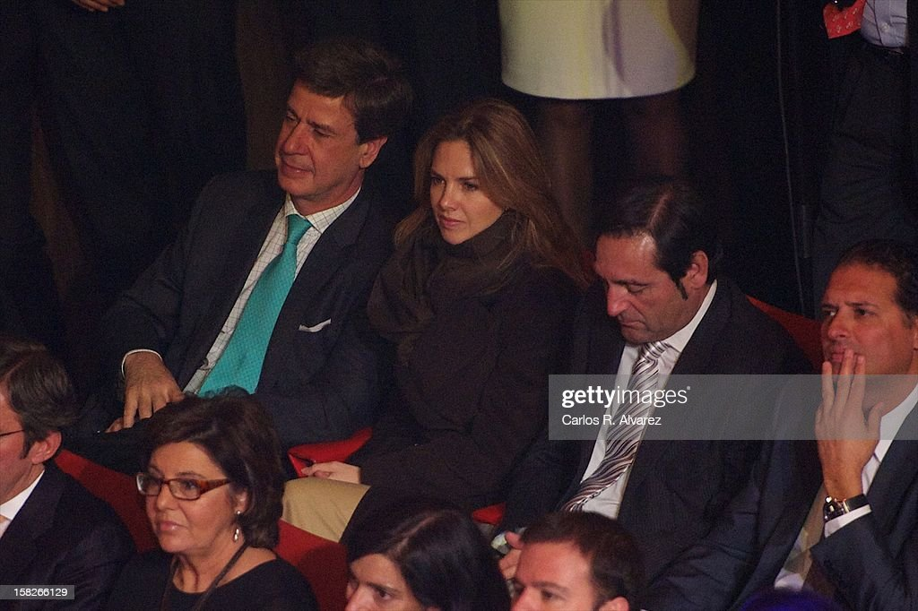 <a gi-track='captionPersonalityLinkClicked' href=/galleries/search?phrase=Cayetano+Martinez+de+Irujo&family=editorial&specificpeople=3948682 ng-click='$event.stopPropagation()'>Cayetano Martinez de Irujo</a> and Genoveva Casanova attend Spanish Olympic Commitee Centenary Gala at El Canal theater on December 12, 2012 in Madrid, Spain.