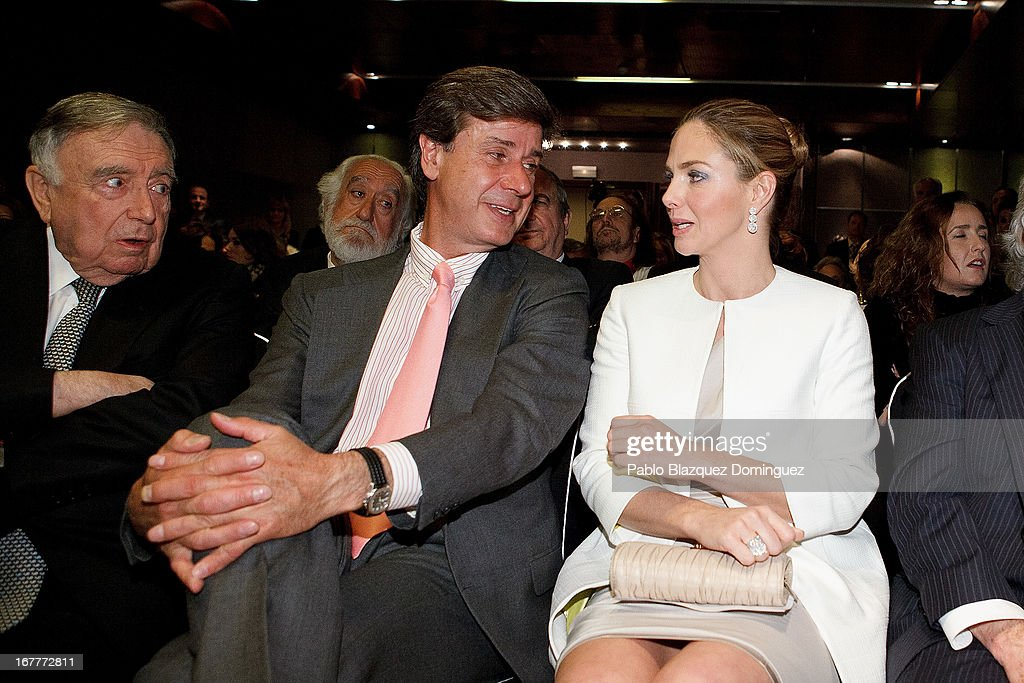 Cayetano Martinez de Irujo and Genoveva Casanova attends 'Orange And Lemon' Awards ceremony at Sheraton Mirasierra Hotel on April 29, 2013 in Madrid, Spain.