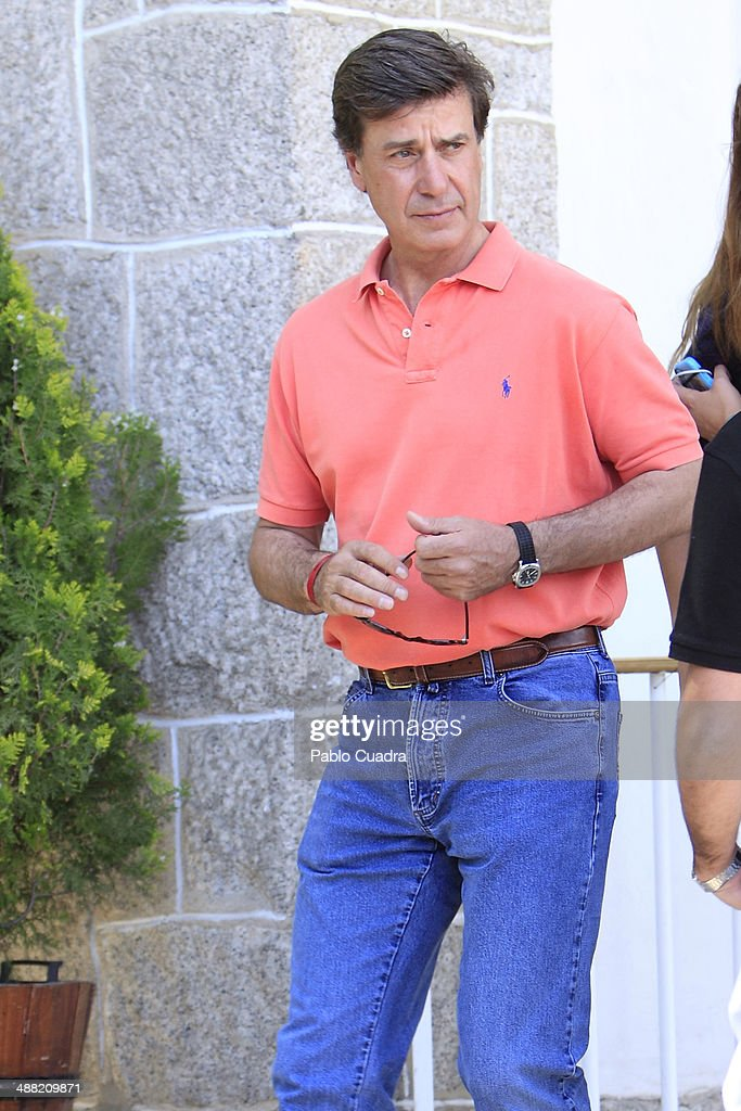 Cayetano Martinez de Irujo attends Global Champion Tour Day 3 on May 4 2014 in Madrid Spain