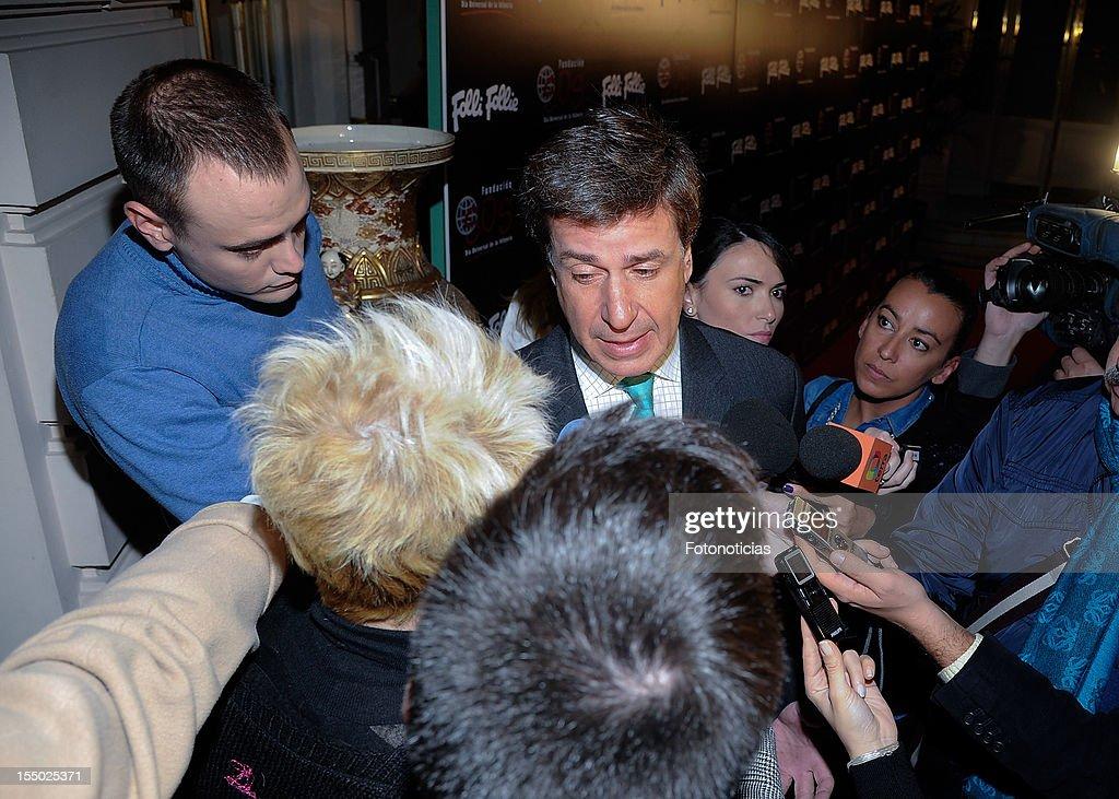 Cayetano Martinez de Irujo attends the 'Folli Follie' campaign launch at the Casino de Madrid on October 30, 2012 in Madrid, Spain.