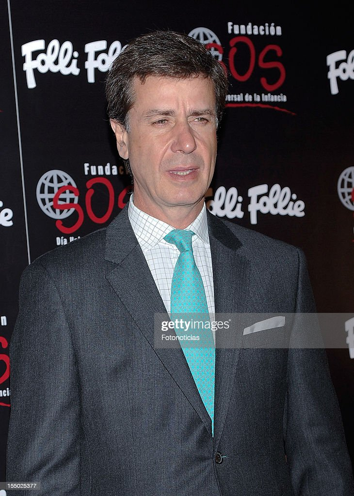 Cayetano Martinez de Irujo attends the 'Folli Follie' campaign launch at the Casino de Madrid on October 30, 2012 in Madrid, Spain.