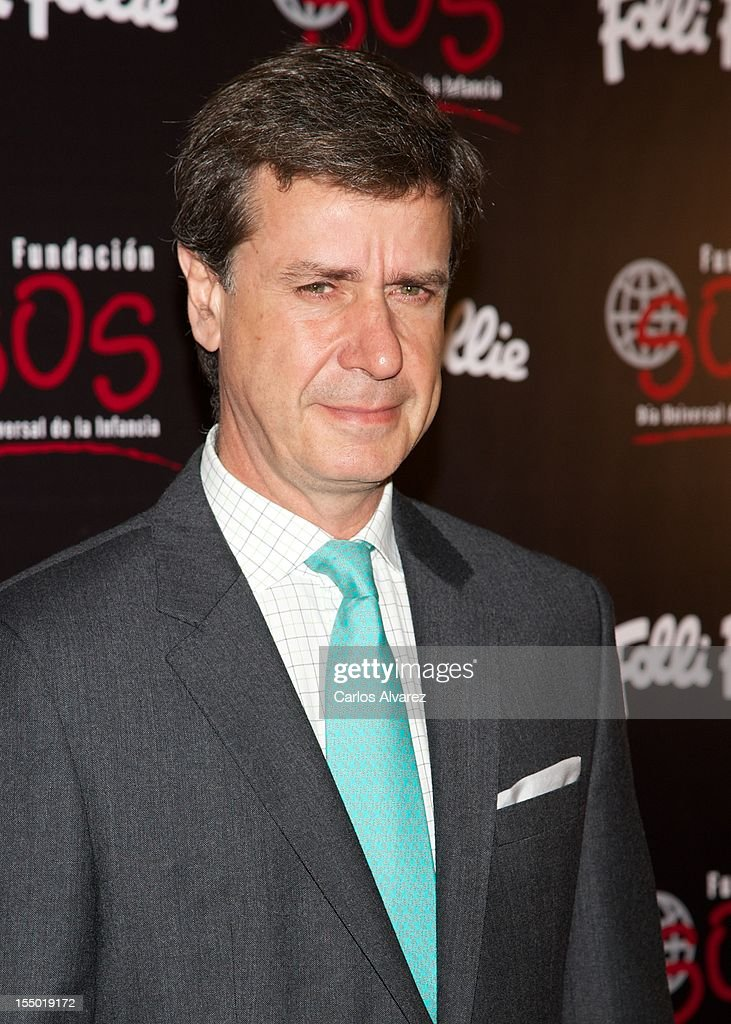Cayetano Martinez de Irujo attends the 'Folli Follie' campaing launch at Casino de Madrid on October 30, 2012 in Madrid, Spain.