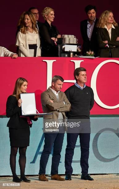 Cayetano Martinez de Irujo attends the Madrid Horse Week 2017 at IFEMA on November 23 2017 in Madrid Spain