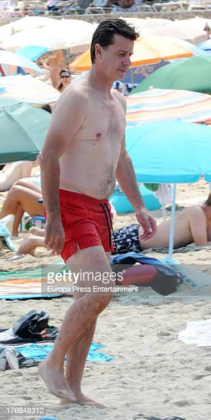 Cayetano Martinez de Irujo is seen on August 17 2013 in Ibiza Spain