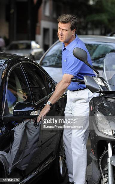 Cayetano Martinez de Irujo is seen on July 25 2014 in Madrid Spain