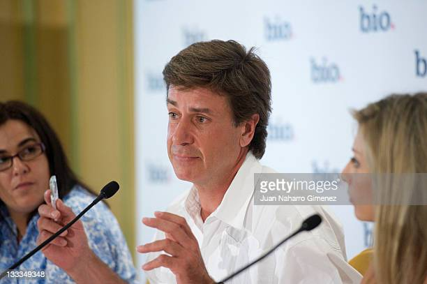 Cayetano Martinez de Irujo presents a new documentary about his life at Palace Hotel on June 29 2011 in Madrid Spain