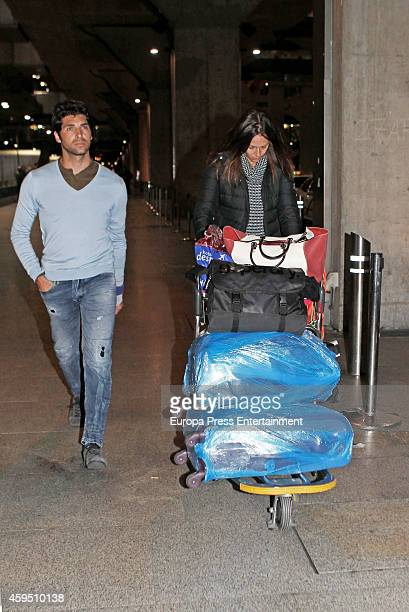 Cayetano Rivera and Eva Gonzalez are seen on November 21 2014 in Madrid Spain